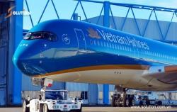 Vietnam Airlines đưa vào khai thác máy bay Airbus 350-900 thế hệ mới