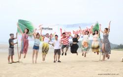 Chương trình Team building bãi biển cùng Solution tại Quan Lạn