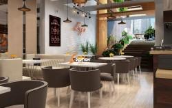 Cập nhật xu hướng trong thiết kế nội thất quán café mới nhất