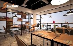 Thiết kế nội thất nhà hàng hút khách với phong cách Hàn Quốc