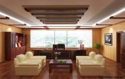 Cách thiết kế nội thất phòng giám đốc đẹp, uy quyền