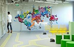 Thiết kế nội thất văn phòng cho công ty công nghệ thông tin