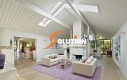 Thiết kế nội thất chung cư lãng mạn hơn với gam màu tím oải hương