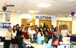 Quẩy tưng bừng Party 12 năm sinh nhật Solution