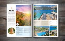 Thiết kế catalogue công ty du lịch