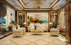 Đặc trưng trong thiết kế nội thất biệt thự cổ điển