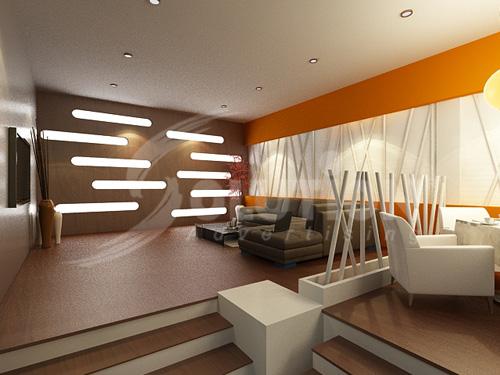 Thiết kế nội thất phòng ăn khách sạn