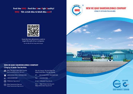 Thiết kế catalogue Công ty CP Tân Hà Kiều