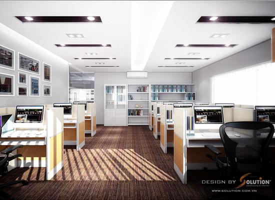 Thiết kế nội thất văn phòng AN THỊNH