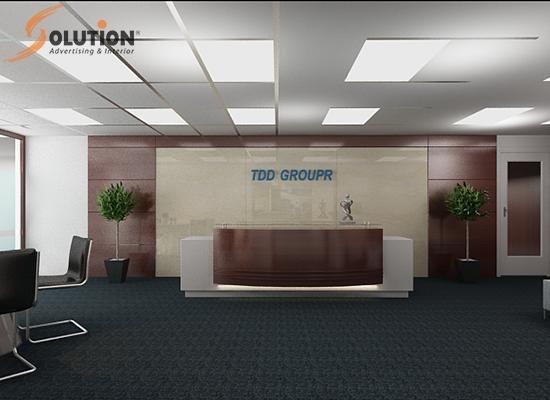 Thiết kế nội thất văn phòng Tân Đại Dương