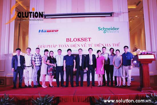 """Hội thảo \""""Blokset - Giải pháp toàn diện về tủ điện hạ thế\""""."""