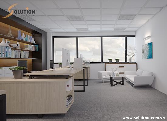 Thiết kế nội thất văn phòng VIT TOWER