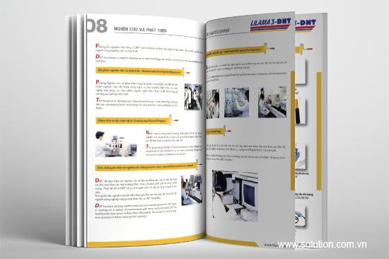 Thiết kế catalogue Công ty TNHH Lilama 3