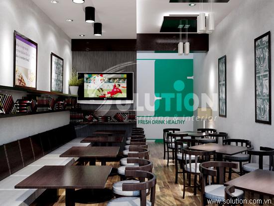 Thiết kế nội thất quán cafe Take AwayTuệ Tĩnh