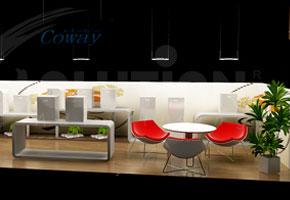 Thiết kế và thi công nội thất showroom Coway