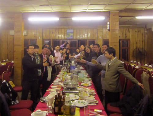 Tiệc tổng kết cuối năm 2012