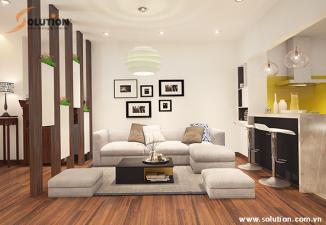 Thiết kế nội thất chung cư Đền Lừ