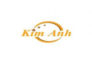 Thiết kế logo Kim Anh