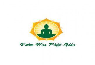 Thiết kế logo Vườn hoa phật giáo