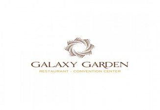 Thiết kế logo nhà hàng cao cấp Galaxy Garden