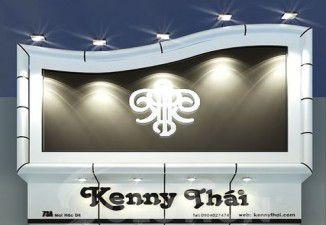 Thiết kế thi công biển bảng Studio Kenny Thái