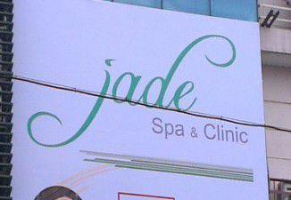 Thi công biển quảng cáo Jade Spa