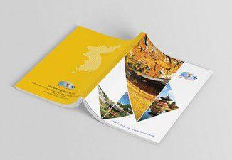 Thiết kế catalogue Công ty Du lịch Tam Vương