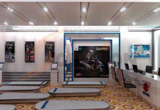 Thiết kế nội thất showroom Suzuki Hà Tĩnh