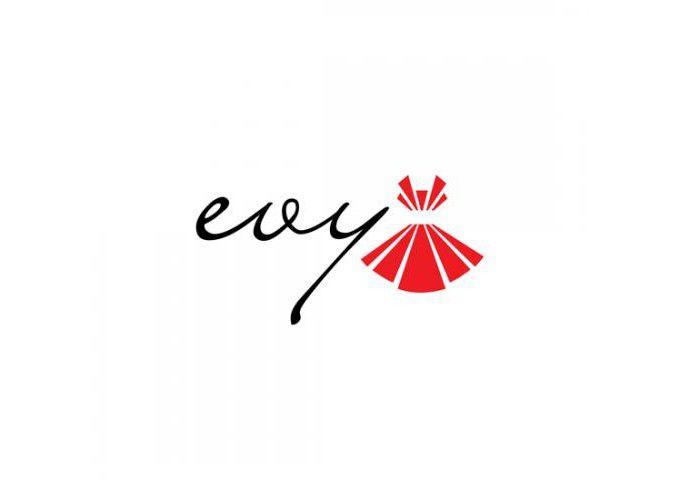 Thiết kế logo thời trang Evy