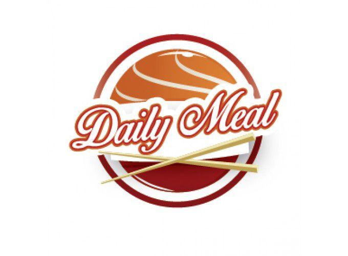 Logo Daily meal chuỗi cửa hàng ăn tự phục vụ
