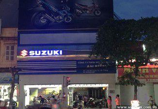 Thiết kế thi công biển quảng cáo Suzuki