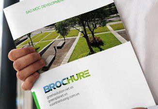 Thiết kế brochure Green Solution