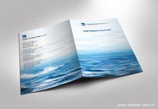 Thiết kế catalogue Công ty Ebara