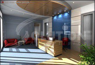 Hình ảnh thiết kế nội thất văn phòng đẹp