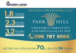 Thiết kế banner quảng cáo Park hill Vinhome