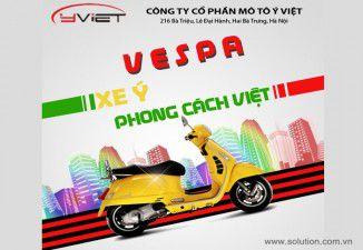 Thiết kế tờ rơi Công ty Ý Việt