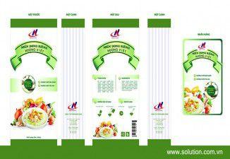 Thiết kế bao bì sản phẩm Nam Á Food