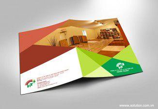 Thiết kế brochure Hưng Thịnh Wood