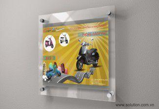 Thiết kế poster Ý Việt Motor