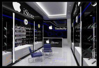 Thiết kế nội thất showroom điện thoại SmartPhone (cơ sở 2)