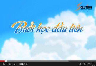 """TVC quảng cáo 2D """"Buổi học đầu tiên"""""""