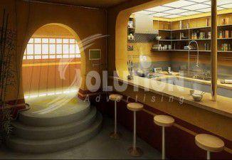 Thiết kế thi công nội thất quán Bar, Coffee
