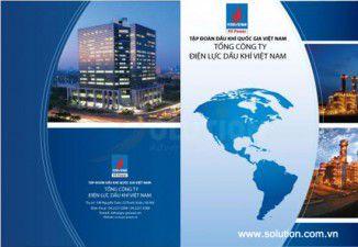 Thiết kế brochure Công ty Dầu khí Việt Nam