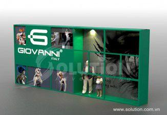 Thiết kế biển quảng cáo Giovanni