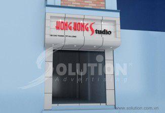 Thiết kế thi công biển quảng cáo Hồng Kong Studio