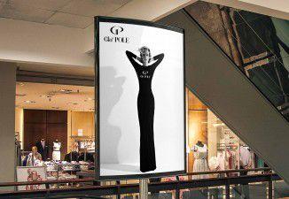 Thiết kế poster quảng cáo thương hiệu Gla'Pole