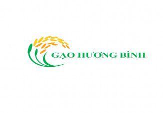 Thiết kế logo Gạo Hương Bình