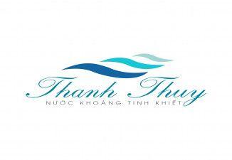 Thiết kế logo nước khoáng tinh khiết Thanh Thủy