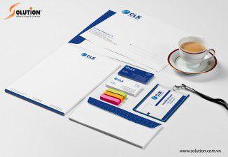 Thiết kế bộ nhận diện thương hiệu Công ty CLK
