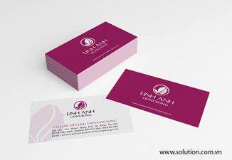 Thiết kế bộ nhận diện thương hiệu thẩm mỹ viện Linh Anh